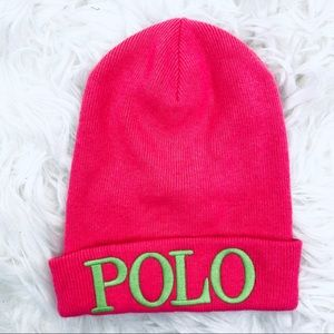 Polo Ralph Lauren Women's Girls Beanie Cap Hat OS